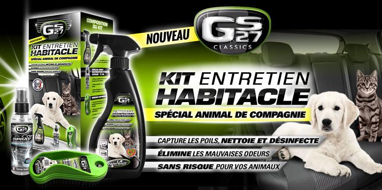 Kit Entretien Habitacle GS27